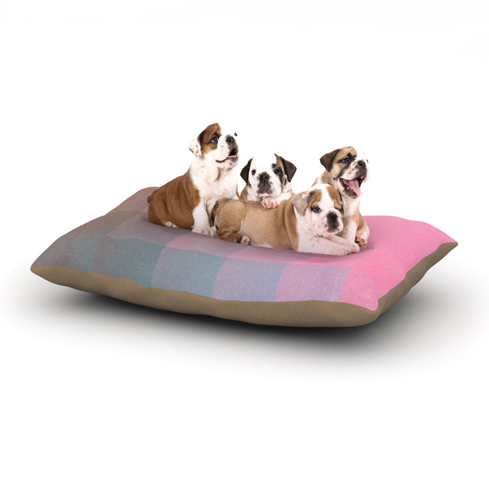 "Danny Ivan ""Girly Pixel Surface"" Dog Bed - KESS InHouse  - 1"
