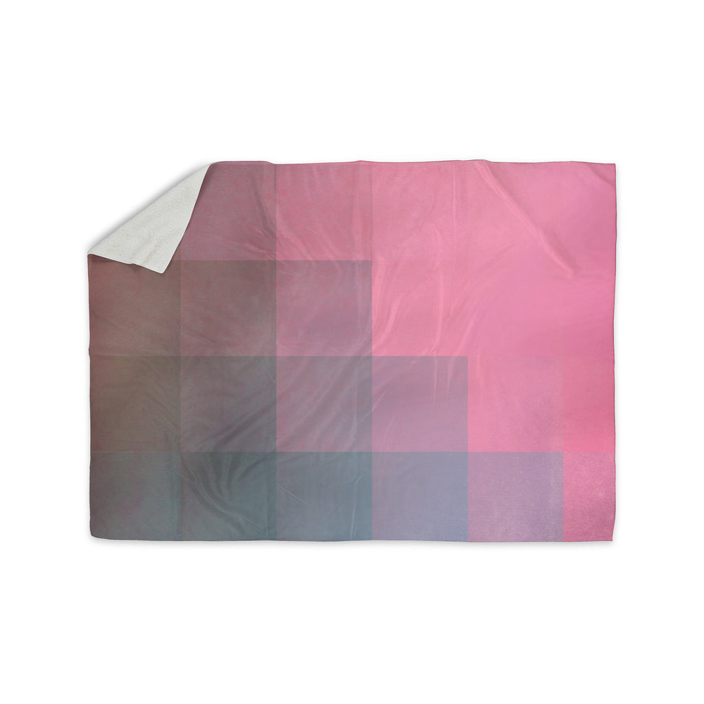 "Danny Ivan ""Girly Pixel Surface"" Sherpa Blanket - KESS InHouse  - 1"