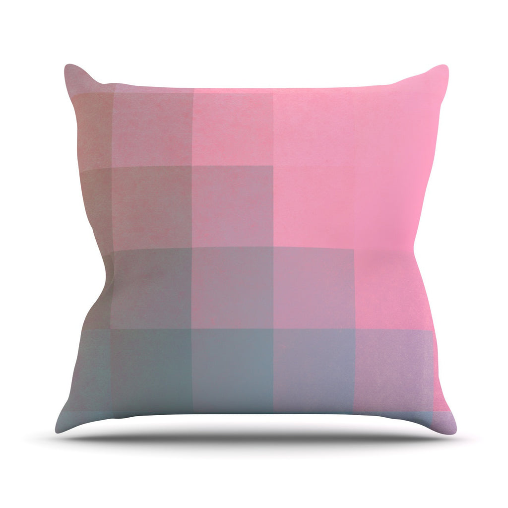 "Danny Ivan ""Girly Pixel Surface"" Outdoor Throw Pillow - KESS InHouse  - 1"
