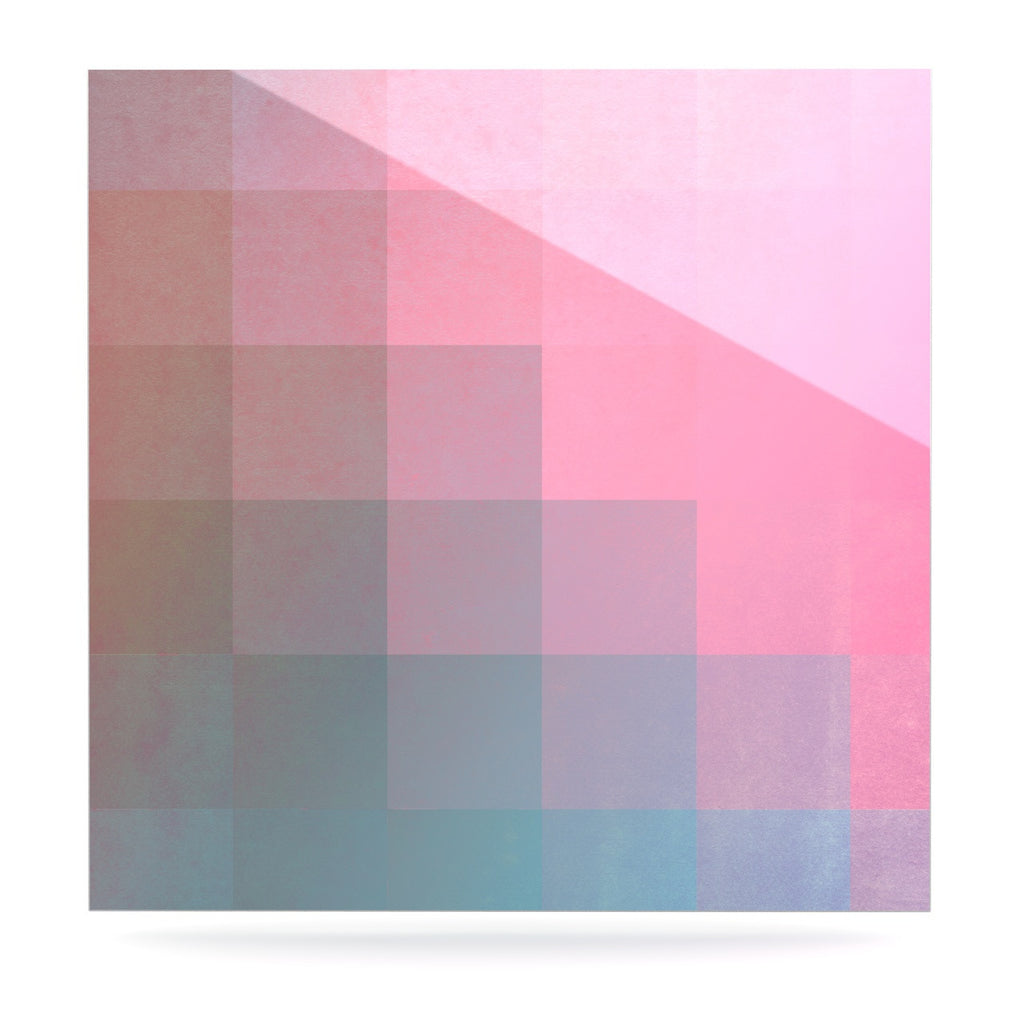 "Danny Ivan ""Girly Pixel Surface"" Luxe Square Panel - KESS InHouse  - 1"