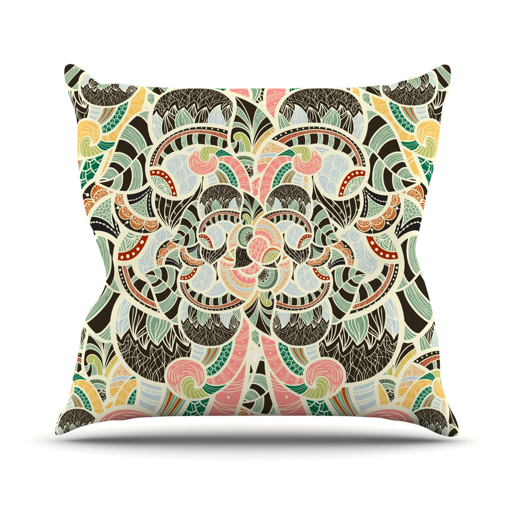"Danny Ivan ""Too Much"" Throw Pillow - KESS InHouse  - 1"
