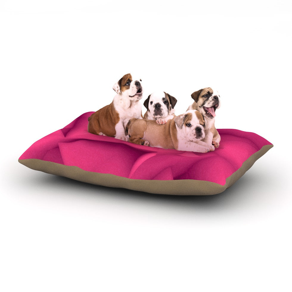 "Danny Ivan ""Purple Surface"" Dog Bed - KESS InHouse  - 1"