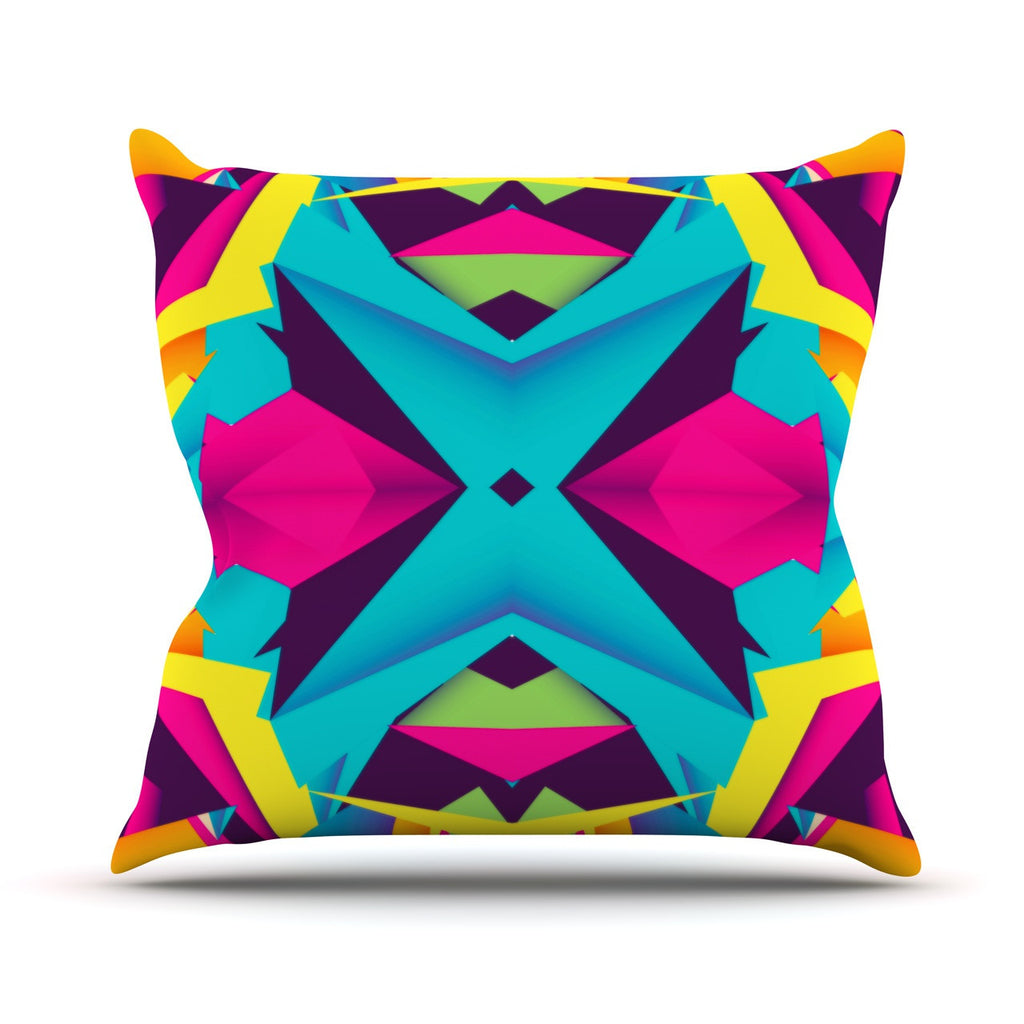 "Danny Ivan ""The Youth"" Outdoor Throw Pillow - KESS InHouse  - 1"