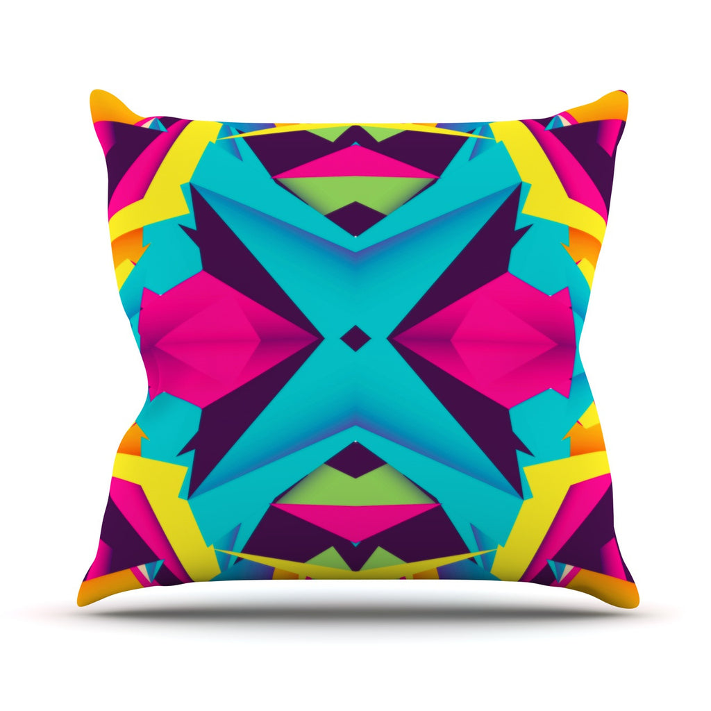 "Danny Ivan ""The Youth"" Throw Pillow - KESS InHouse  - 1"