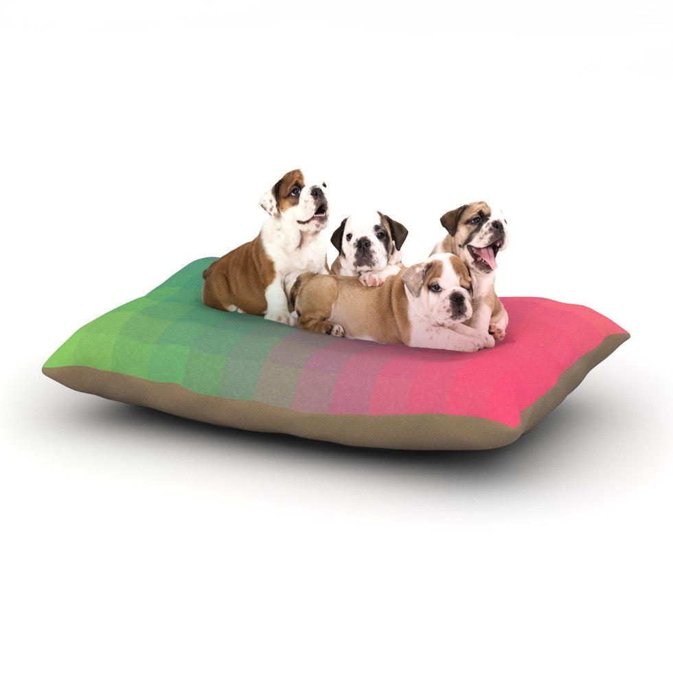 "Danny Ivan ""Gradient Print"" Dog Bed - KESS InHouse  - 1"