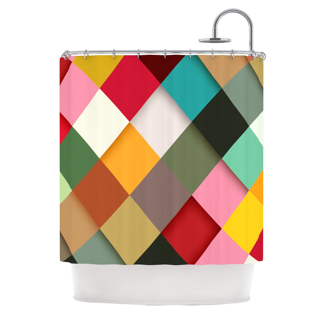 "Danny Ivan ""Colorful"" Shower Curtain - KESS InHouse"