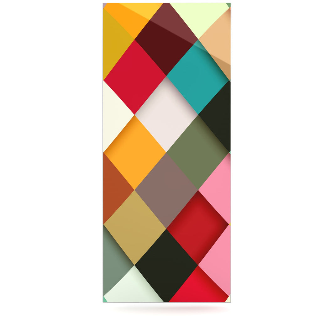 "Danny Ivan ""Colorful"" Luxe Rectangle Panel - KESS InHouse  - 1"