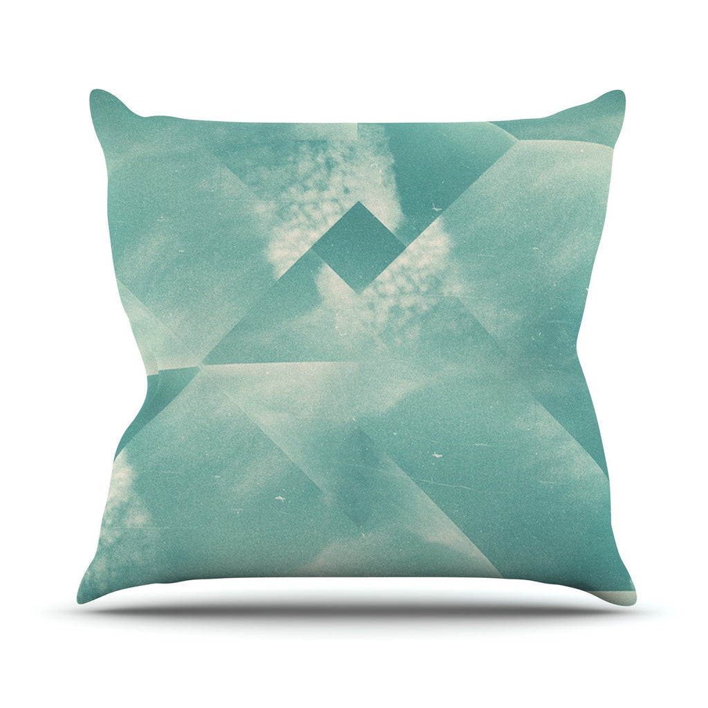 "Danny Ivan ""Wild Sky"" Throw Pillow - KESS InHouse  - 1"