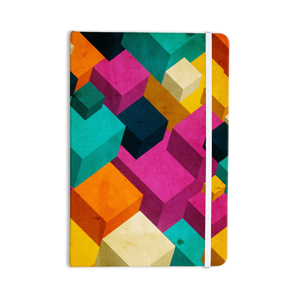 "Danny Ivan ""Happy Cubes"" Everything Notebook - KESS InHouse  - 1"