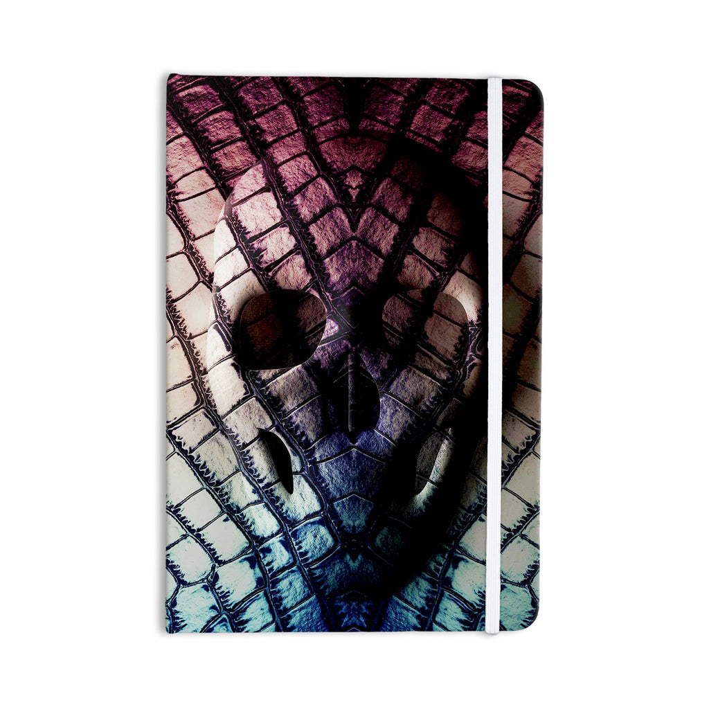 "Danny Ivan ""Skull"" Dark Purple Everything Notebook - KESS InHouse  - 1"
