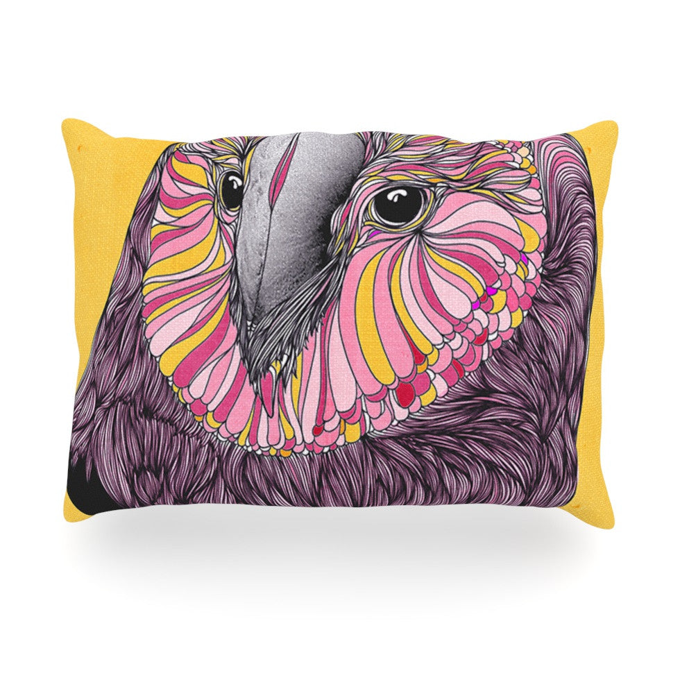"Danny Ivan ""Lovely Owl"" Oblong Pillow - KESS InHouse"