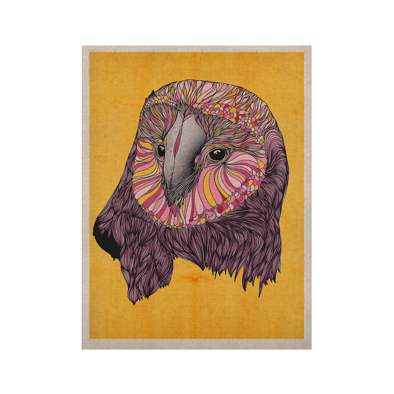 "Danny Ivan ""Lovely Owl"" KESS Naturals Canvas (Frame not Included) - KESS InHouse  - 1"