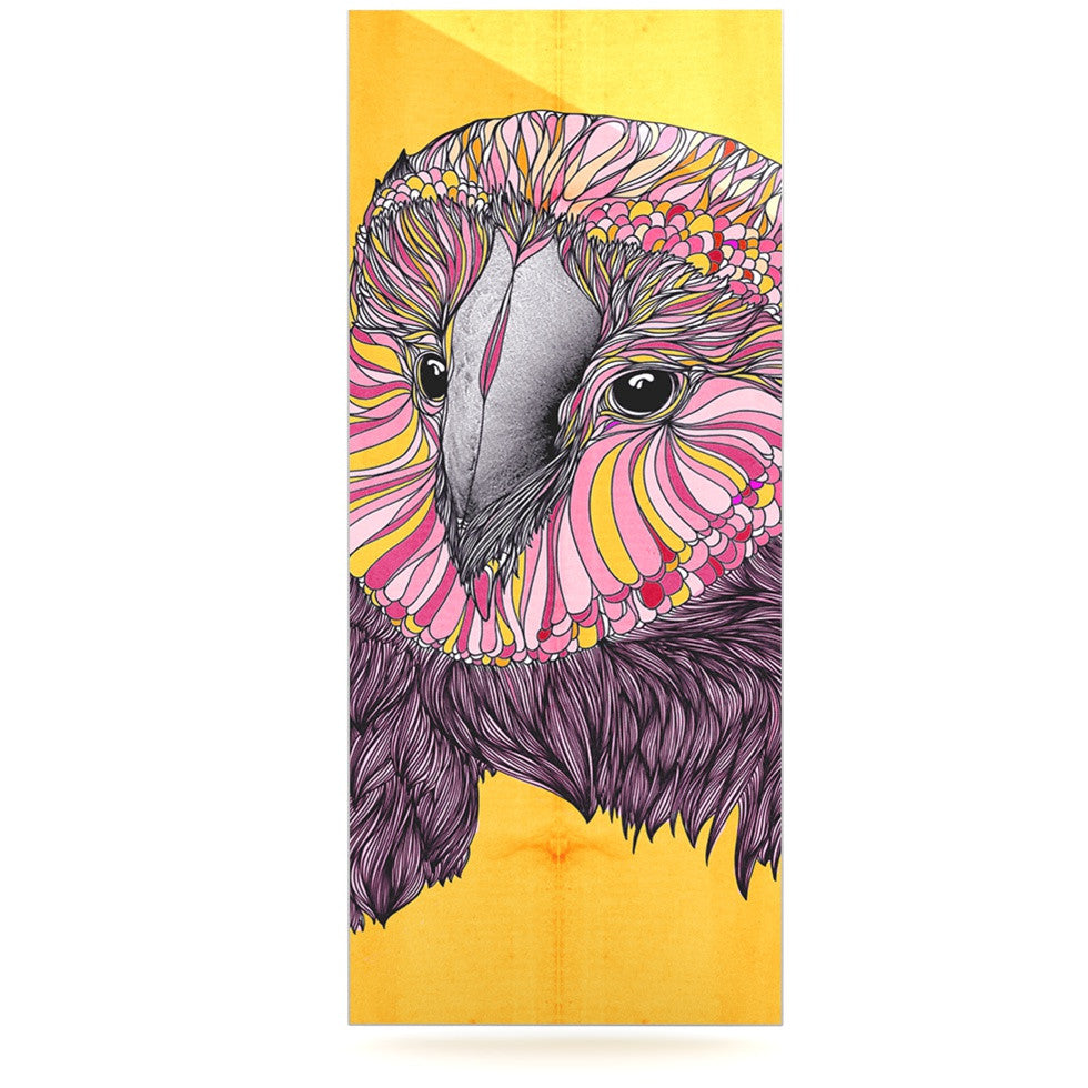 "Danny Ivan ""Lovely Owl"" Luxe Rectangle Panel - KESS InHouse  - 1"