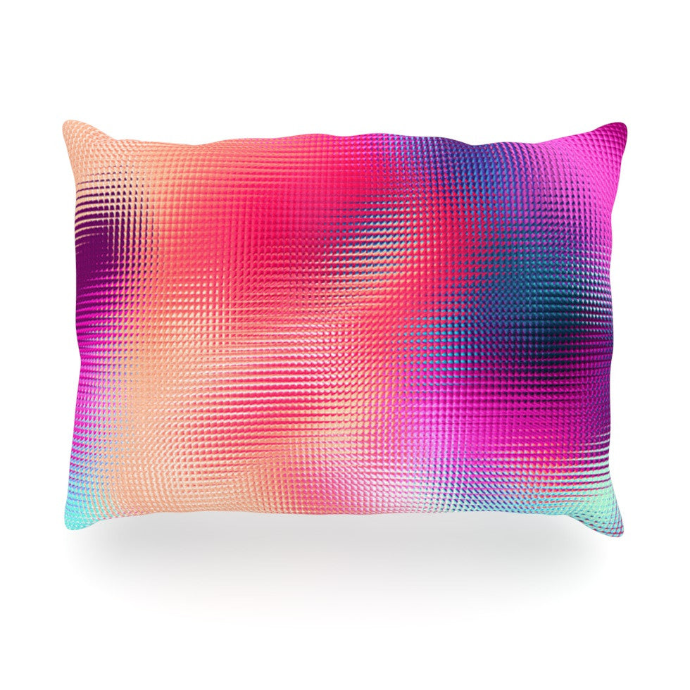 "Danny Ivan ""Bastard Abstract"" Oblong Pillow - KESS InHouse"
