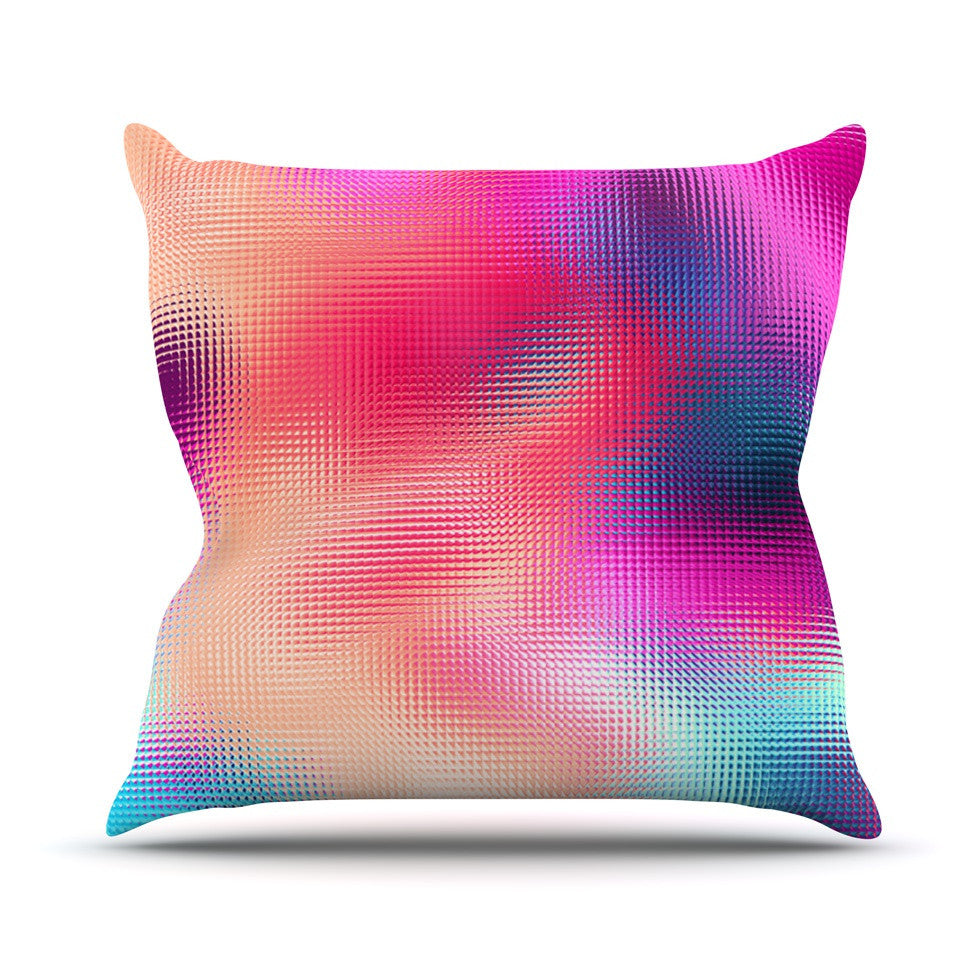 "Danny Ivan ""Bastard Abstract"" Outdoor Throw Pillow - KESS InHouse  - 1"