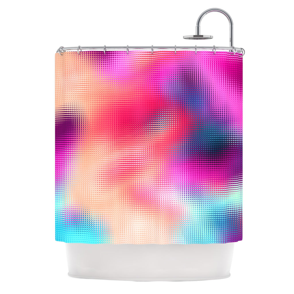 "Danny Ivan ""Bastard Abstract"" Shower Curtain - KESS InHouse"