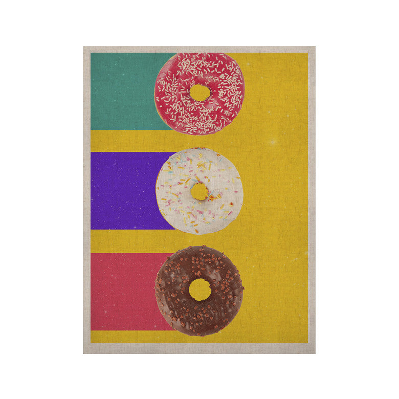 "Danny Ivan ""Donuts"" KESS Naturals Canvas (Frame not Included) - KESS InHouse  - 1"