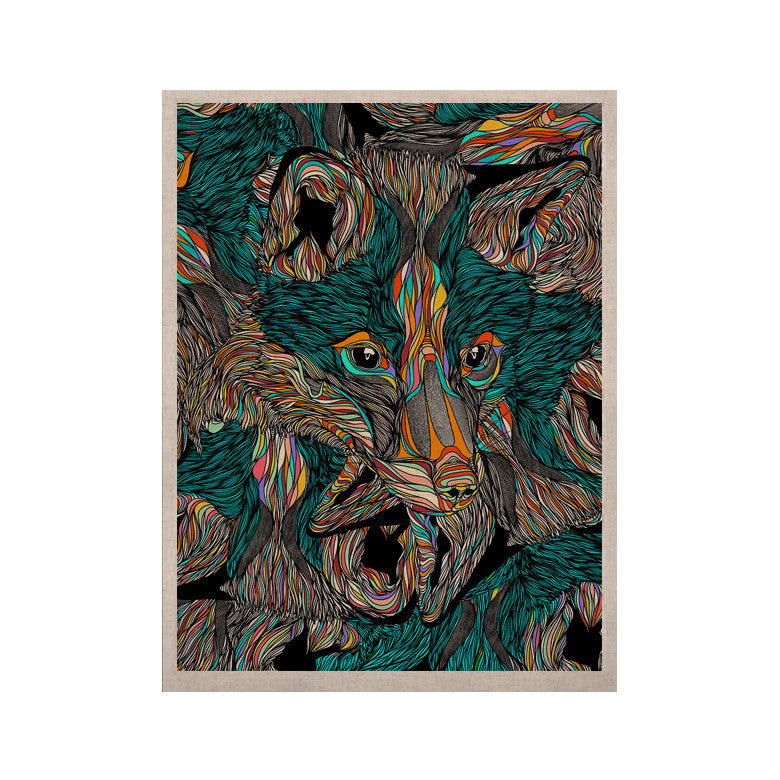 "Danny Ivan ""Fox"" KESS Naturals Canvas (Frame not Included) - KESS InHouse  - 1"