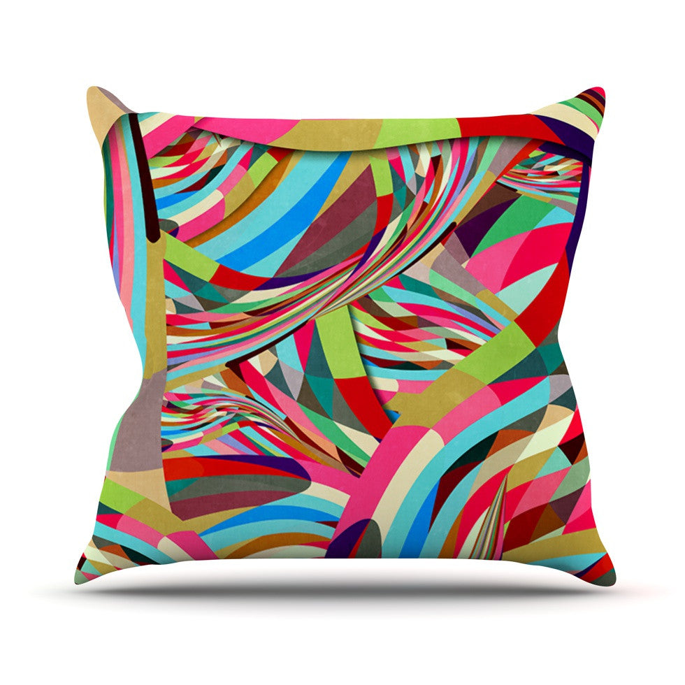 "Danny Ivan ""Fun"" Throw Pillow - KESS InHouse  - 1"