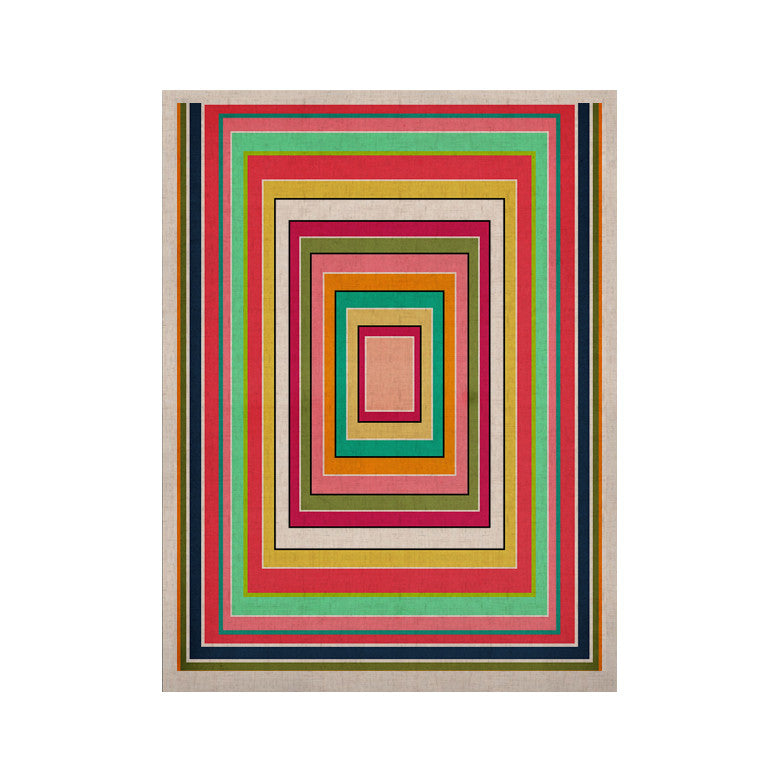 "Danny Ivan ""Floor Pattern"" KESS Naturals Canvas (Frame not Included) - KESS InHouse  - 1"