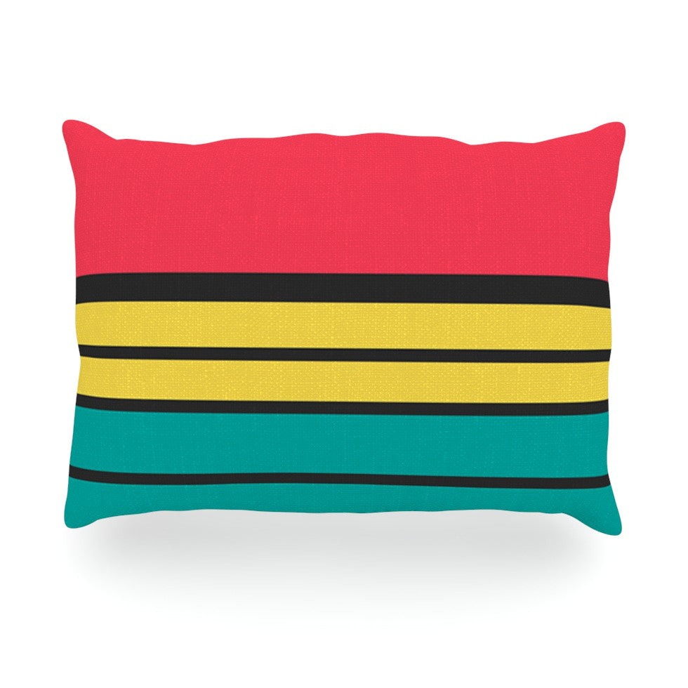 "Danny Ivan ""Simple"" Oblong Pillow - KESS InHouse"
