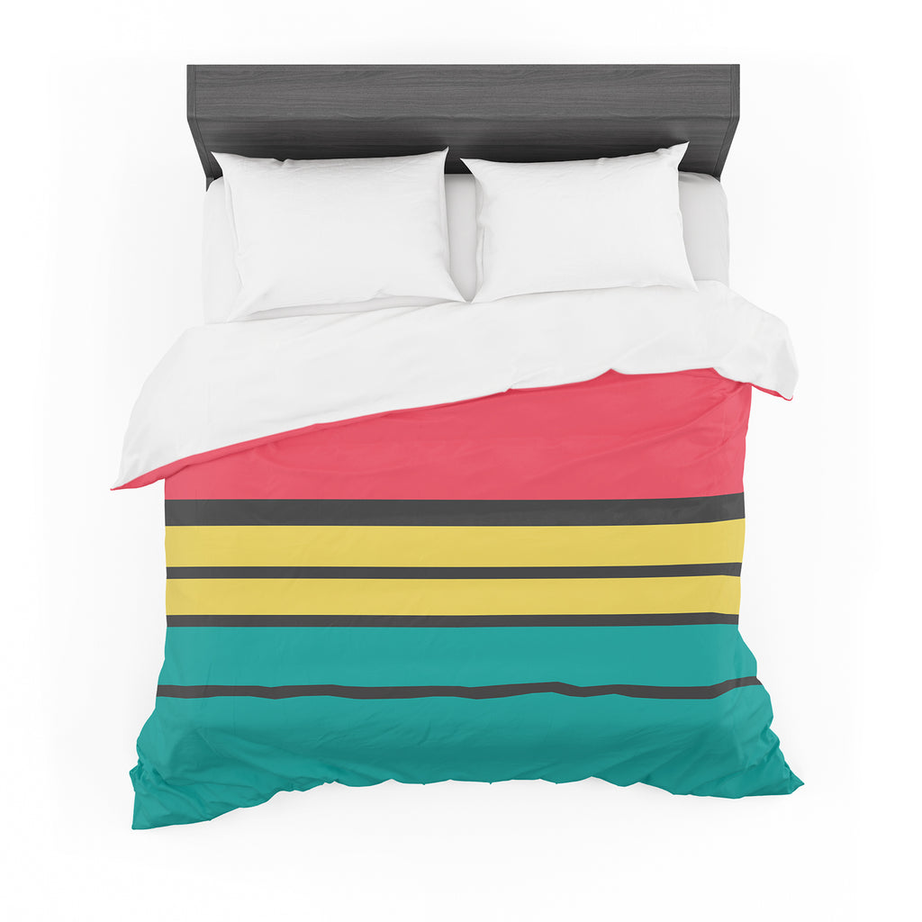 "Danny Ivan ""Simple"" Featherweight Duvet Cover"