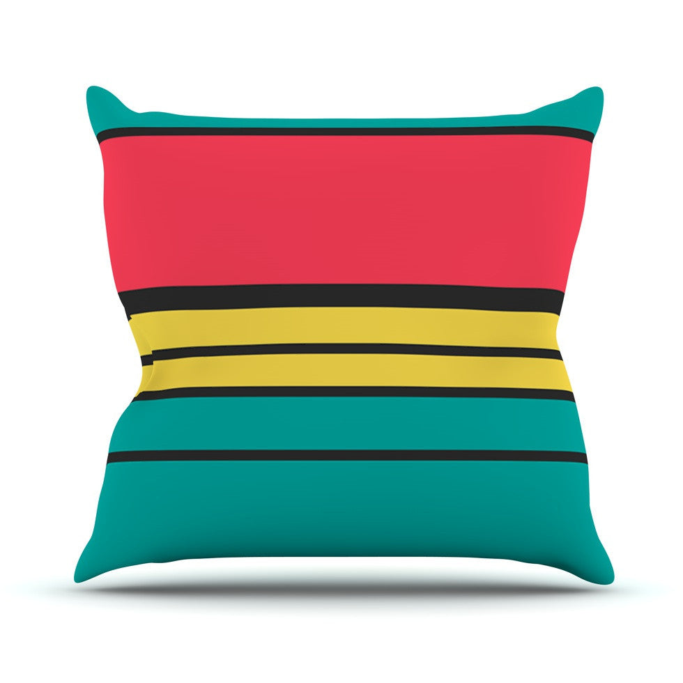 "Danny Ivan ""Simple"" Outdoor Throw Pillow - KESS InHouse  - 1"