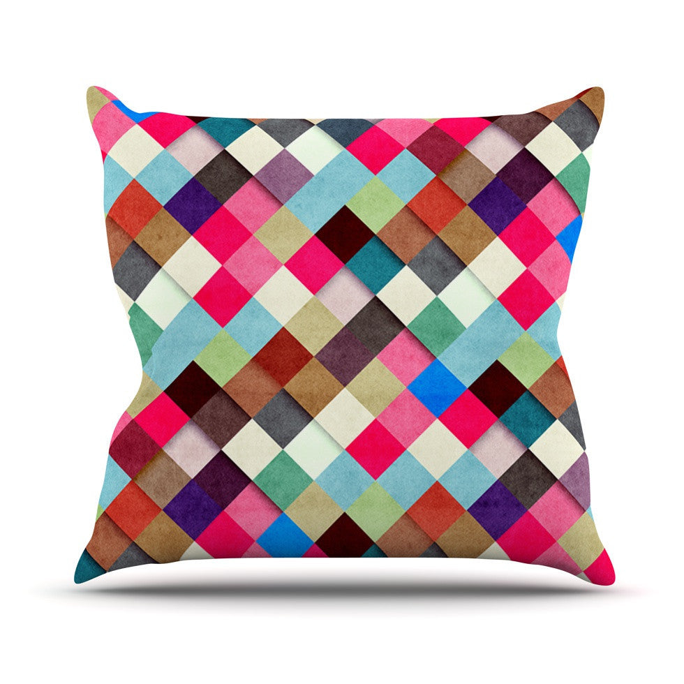 "Danny Ivan ""Ubrik"" Outdoor Throw Pillow - KESS InHouse  - 1"