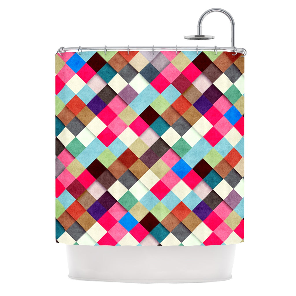 "Danny Ivan ""Ubrik"" Shower Curtain - KESS InHouse"