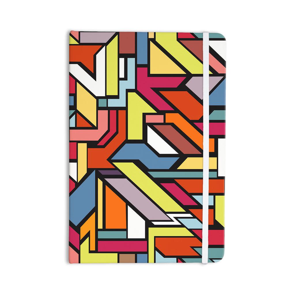 "Danny Ivan ""Abstract Shapes"" Everything Notebook - KESS InHouse  - 1"
