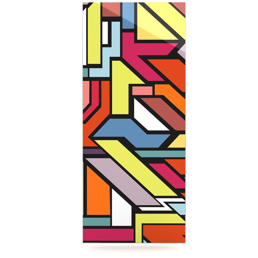 "Danny Ivan ""Abstract Shapes"" Luxe Rectangle Panel - KESS InHouse  - 1"