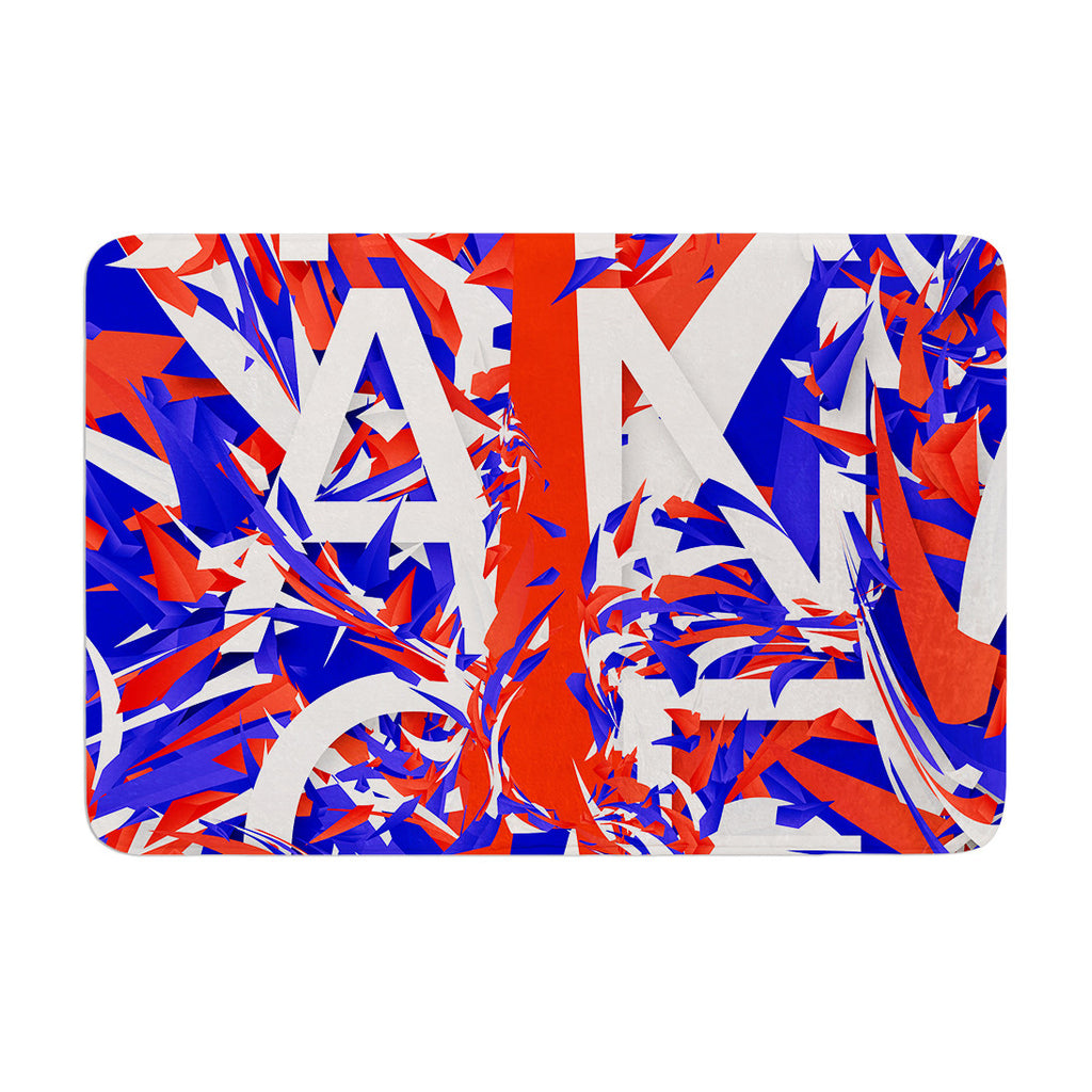 "Danny Ivan ""France"" World Cup Memory Foam Bath Mat - KESS InHouse"