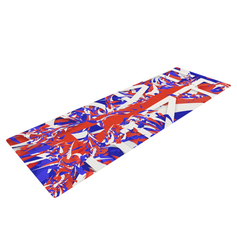 "Danny Ivan ""France"" World Cup Yoga Mat - KESS InHouse  - 1"
