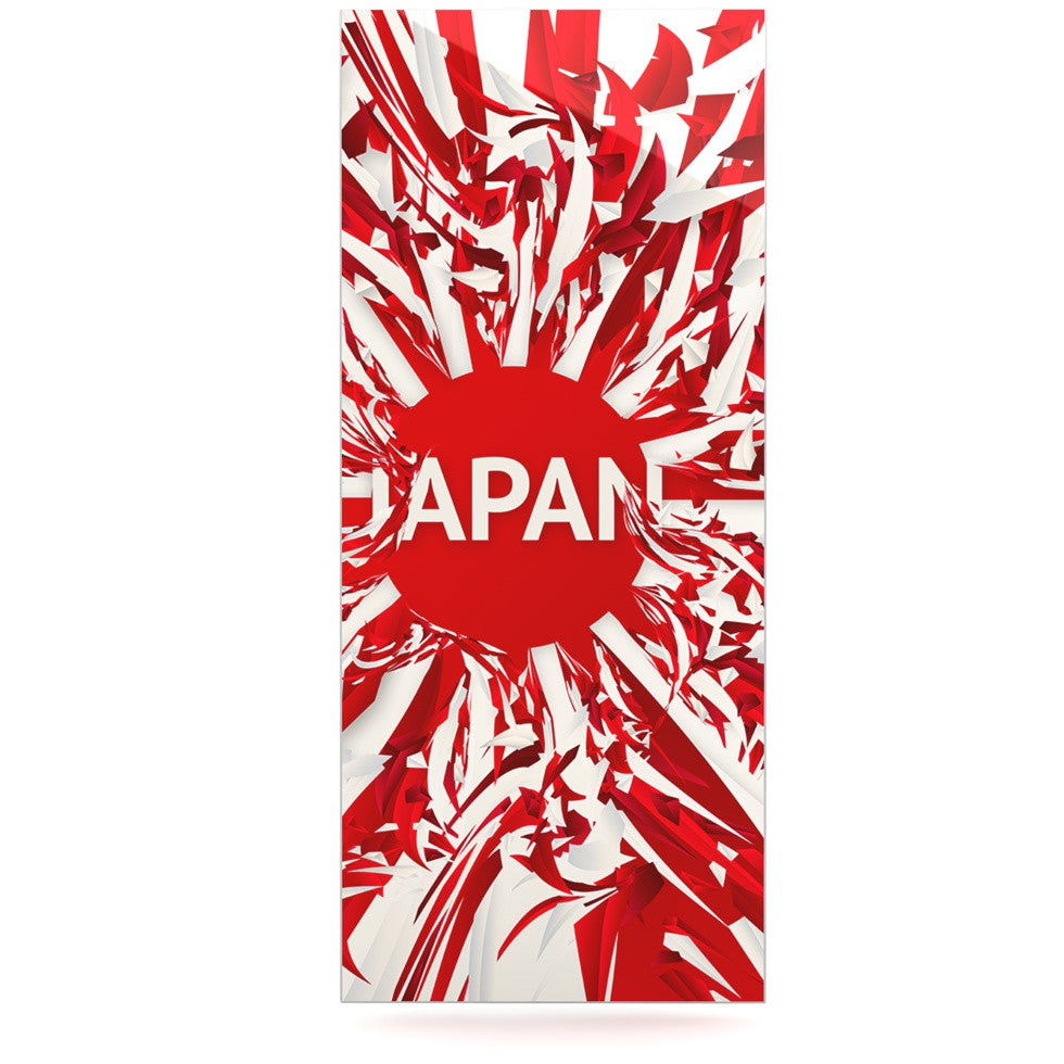 "Danny Ivan ""Japan"" World Cup Luxe Rectangle Panel - KESS InHouse  - 1"