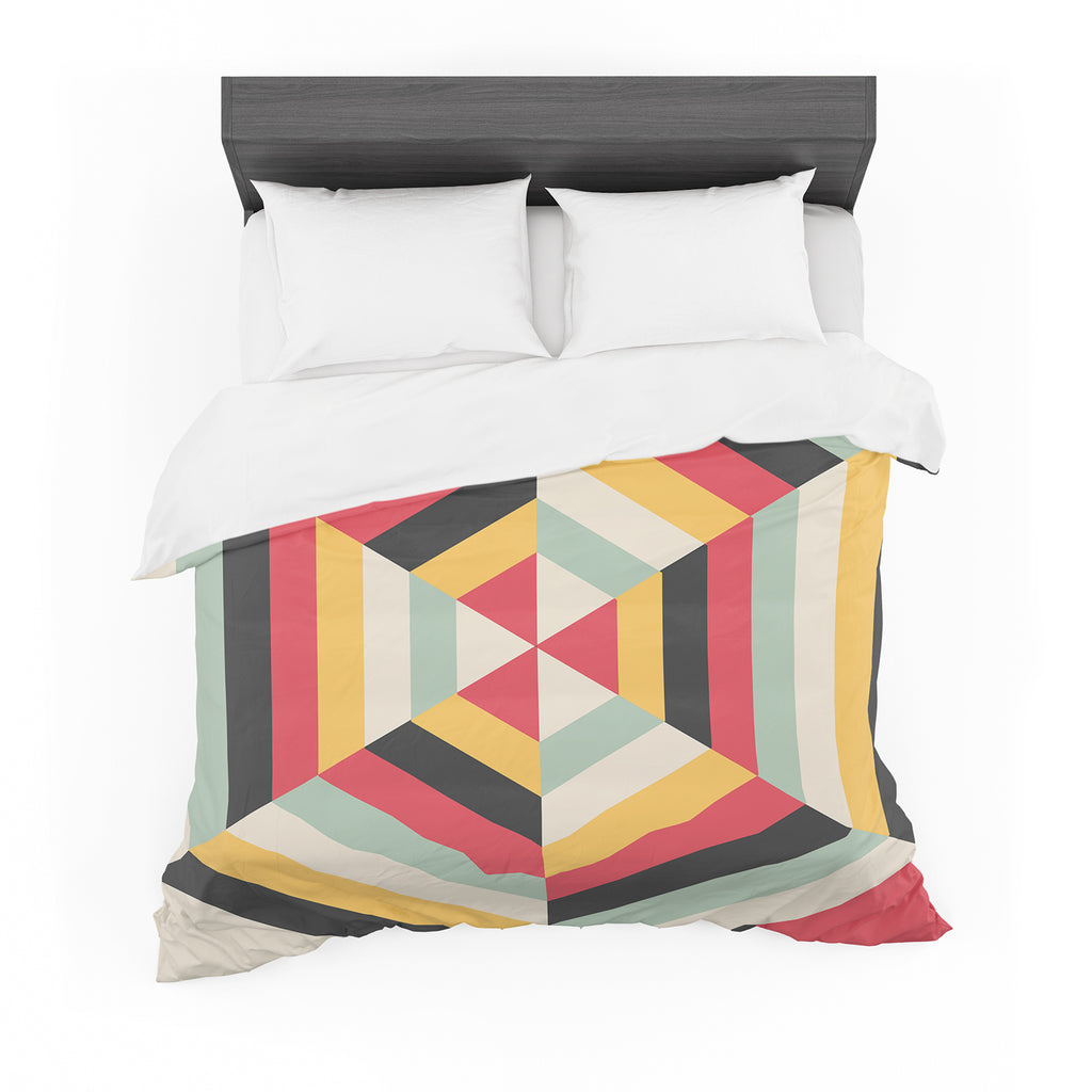 "Danny Ivan ""On Call"" Red Yellow Cotton Duvet"