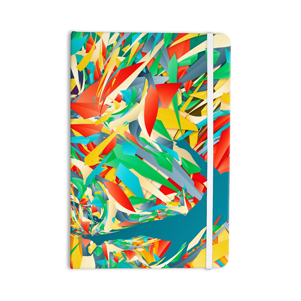 "Danny Ivan ""Soccer Slide"" Crazy Rainbow Everything Notebook - KESS InHouse  - 1"