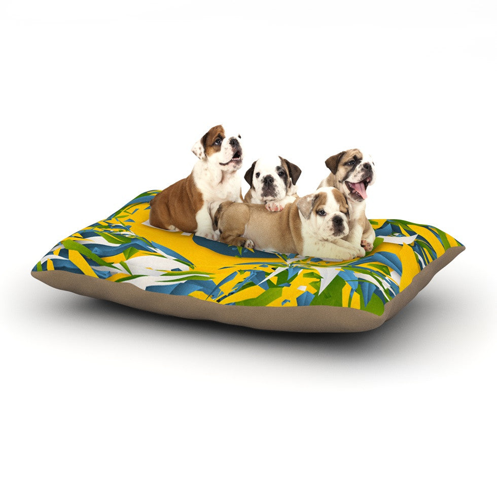"Danny Ivan ""Brazil"" World Cup Dog Bed - KESS InHouse  - 1"