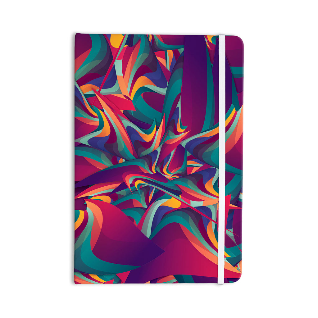"Danny Ivan ""Wrong Past"" Teal Purple Everything Notebook - KESS InHouse  - 1"