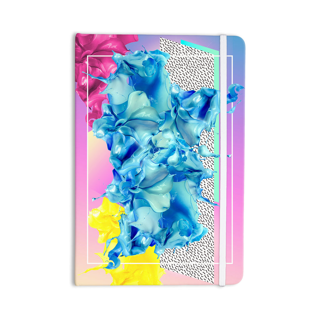 "Danny Ivan ""Alothea"" Blue Pink Everything Notebook - KESS InHouse  - 1"