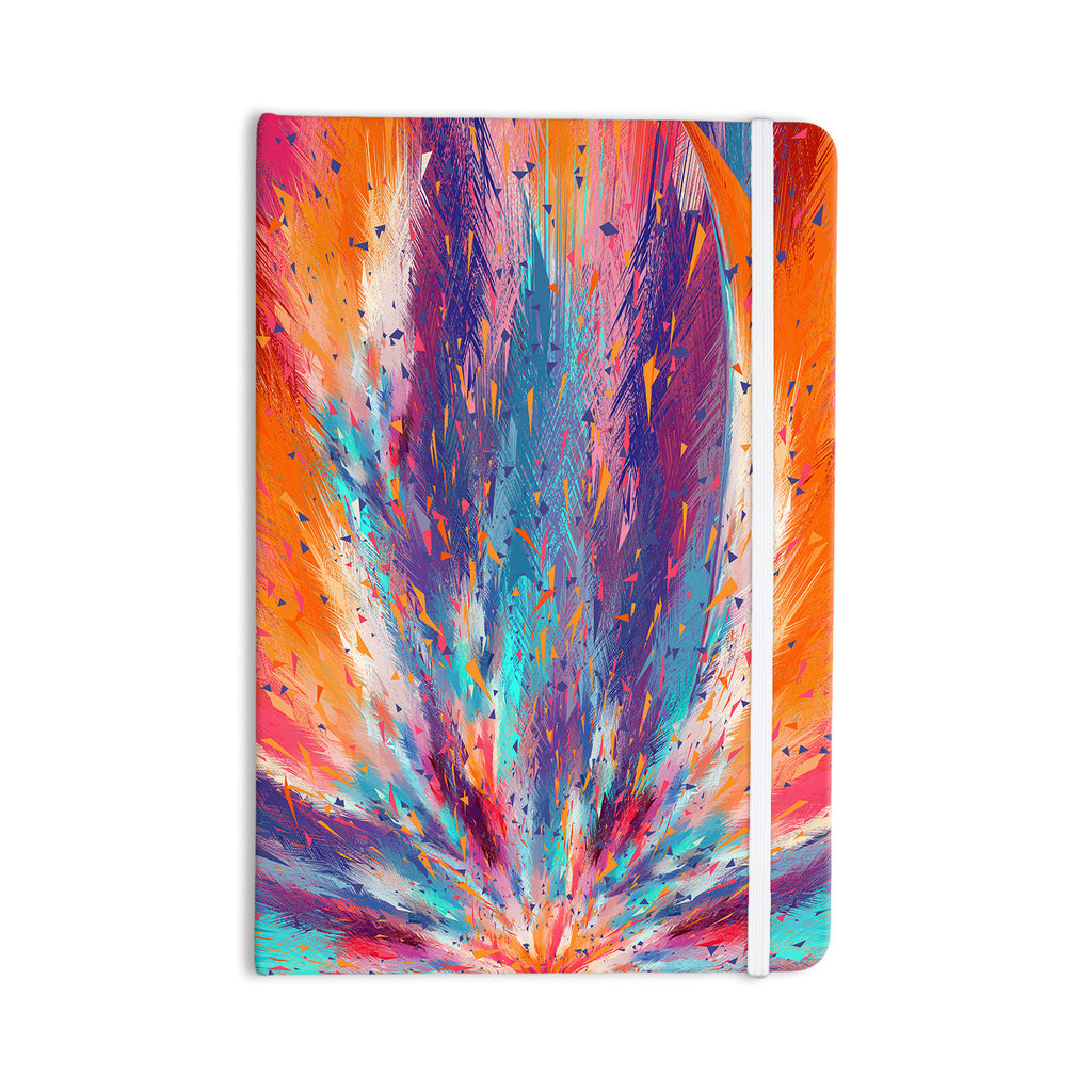 "Danny Ivan ""Colorful Fire"" Cool Fire Everything Notebook - KESS InHouse  - 1"
