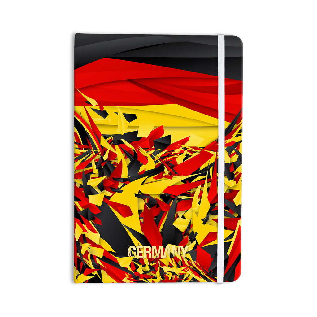 "Danny Ivan ""Germany"" World Cup Everything Notebook - KESS InHouse  - 1"