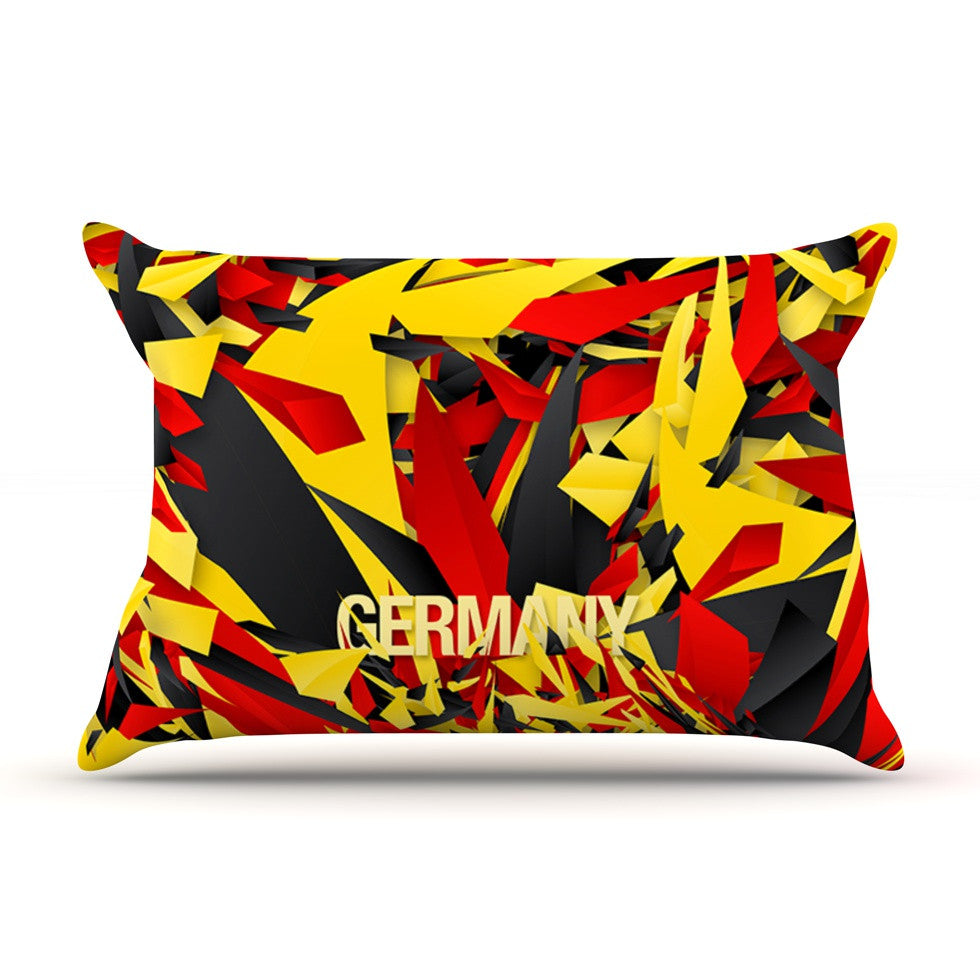 "Danny Ivan ""Germany"" World Cup Pillow Sham - KESS InHouse"