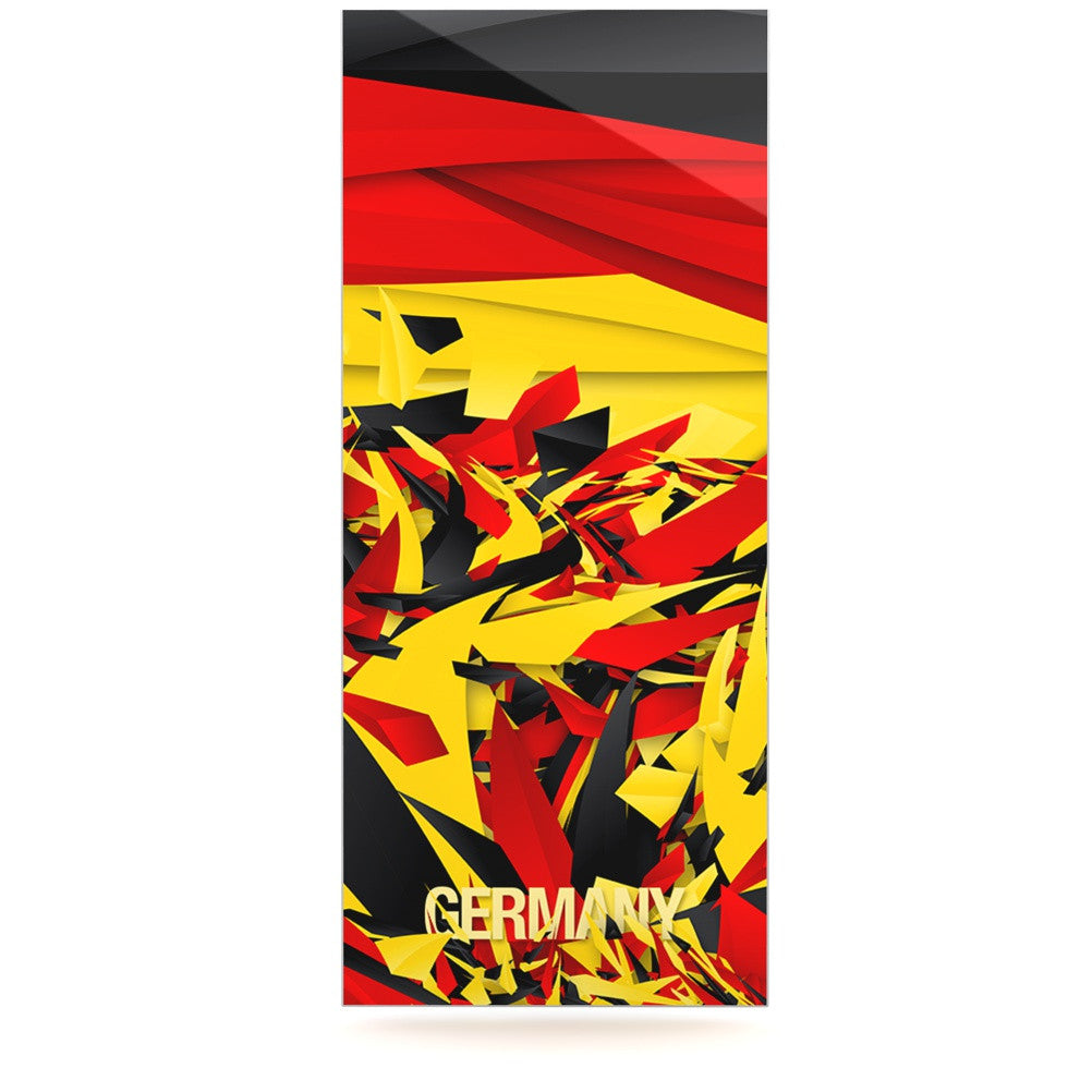 "Danny Ivan ""Germany"" World Cup Luxe Rectangle Panel - KESS InHouse  - 1"