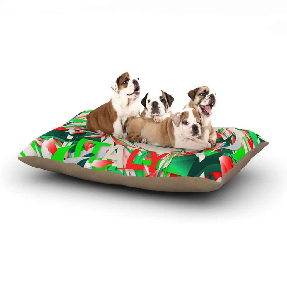"Danny Ivan ""Italy"" World Cup Dog Bed - KESS InHouse  - 1"