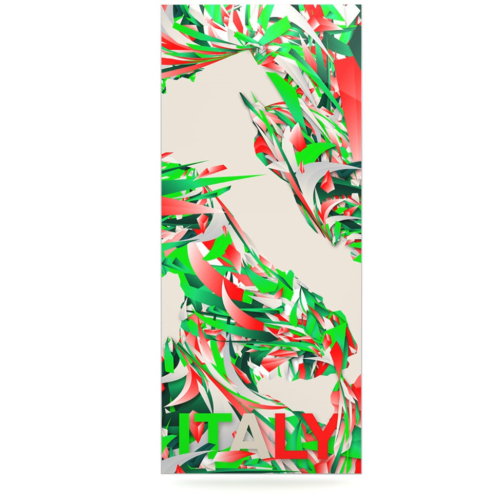 "Danny Ivan ""Italy"" World Cup Luxe Rectangle Panel - KESS InHouse  - 1"