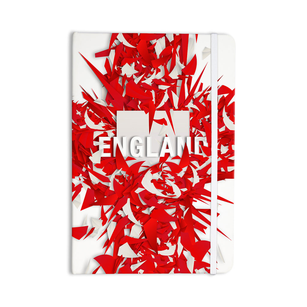 "Danny Ivan ""England"" World Cup Everything Notebook - KESS InHouse  - 1"
