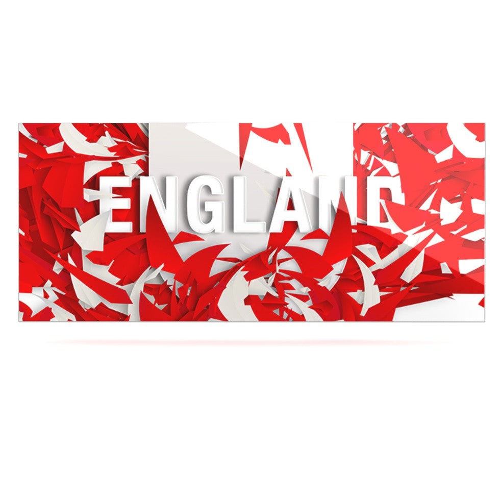 "Danny Ivan ""England"" World Cup Luxe Rectangle Panel - KESS InHouse  - 1"