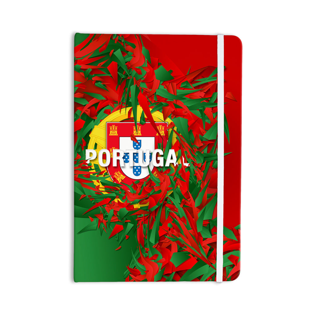 "Danny Ivan ""Portugal"" World Cup Everything Notebook - KESS InHouse  - 1"