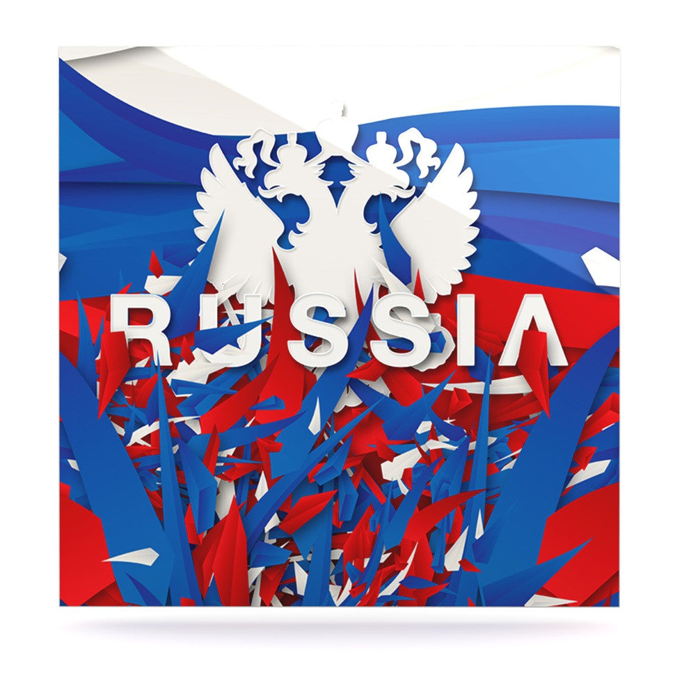 "Danny Ivan ""Russia"" World Cup Luxe Square Panel - KESS InHouse  - 1"