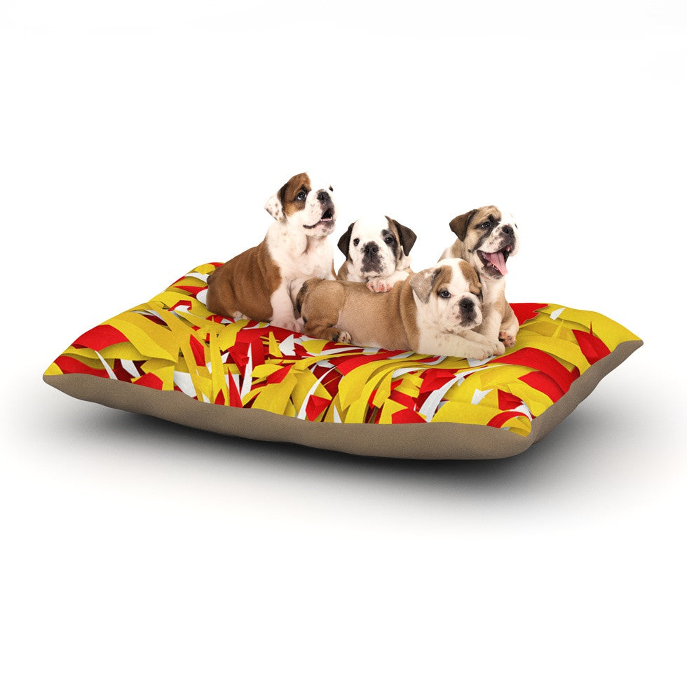 "Danny Ivan ""Spain"" World Cup Dog Bed - KESS InHouse  - 1"